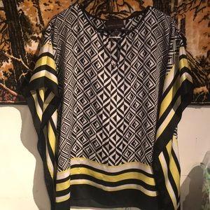 Dana Buchman Kimono Sleeved Blouse